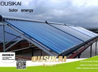 OEM Solar Water Heater Collector Project for School, Swimming Pool, Hospital