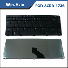 High quality laptop keyboard for Acer 4736 4736G 4736Z 4736ZG 4738 4738G 4738Z black US RU UK SP BR layout keyboard