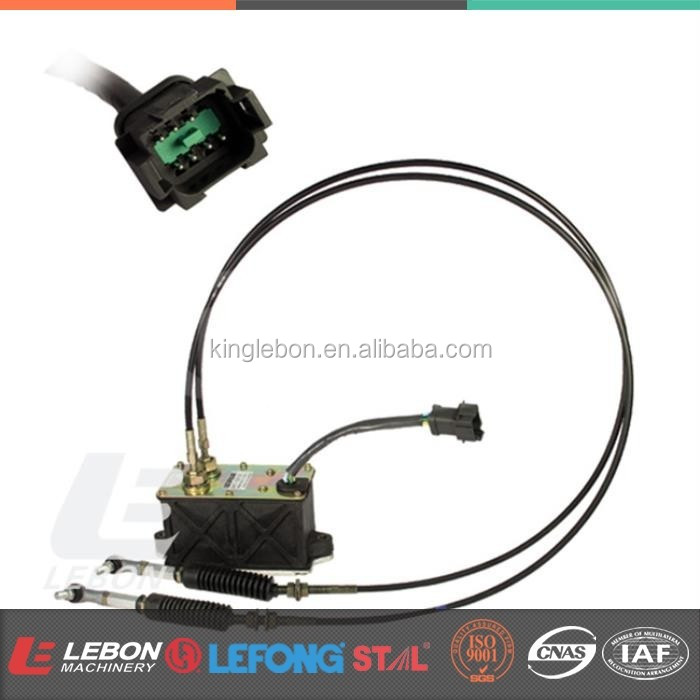 LB-A0007C E312C E320C Excavator Accelerator Motor 247-5207 Governor Assy with Double Cable