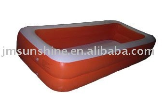 PVC Inflatable Rectangular Swimming Pool