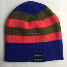 Chinese supplier winter music wireless beanie cap hat for Christmas promotion