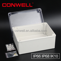 IP68 cable connection box electronic enclosure glass suspension clamp