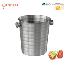 stainless steel wine beer ice bucket
