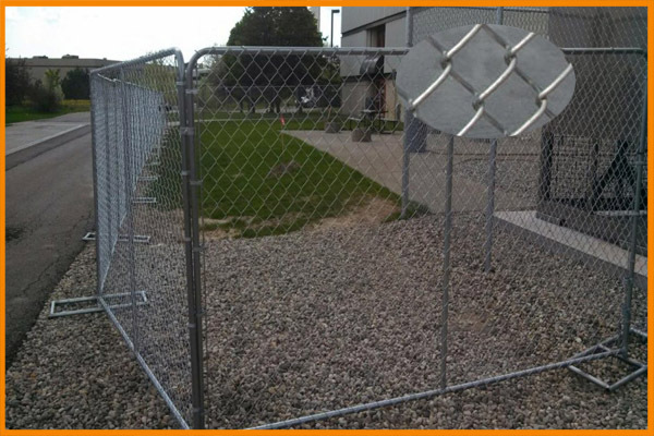 Low price welded and removable stainless steel grating wire mesh Australia temporary fence