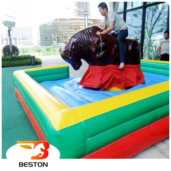 China supplier kids play game rides mechanical bull riding for sale