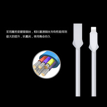 Manufacturer hight quality 2.4A smart phone cable usb for iPhone 7 plus