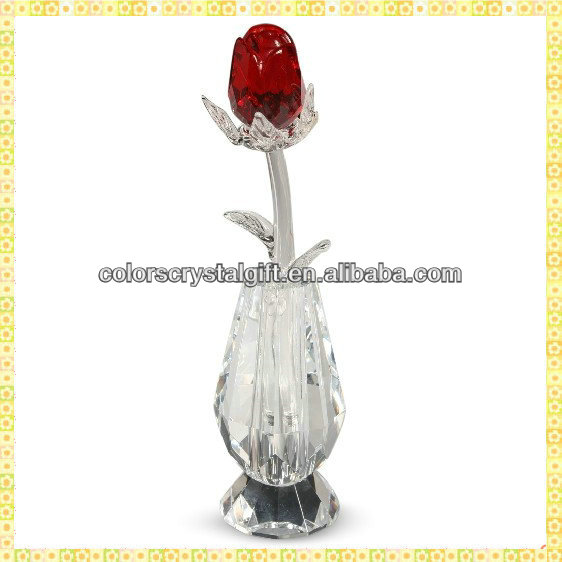 Wholesale Imitation Exquisite Love Antique Rose Glass For Wedding Bride Engagement Souvenir