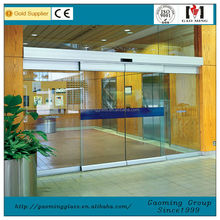 automatic single tempered glass sliding door GM-AD1405