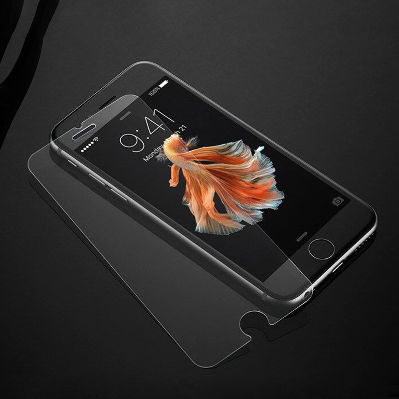 0.3mm 9H Anti Shock 2.5D Tempered glass screen protector for Iphone 6s