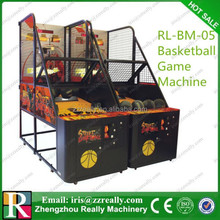 Promotional gift indoor amusement park street basketball game machine