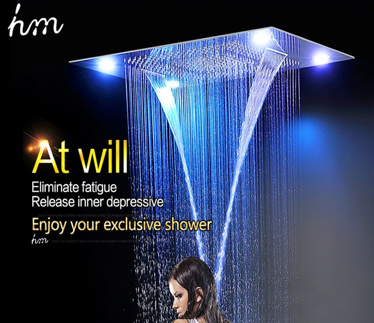 Wholesale bathroom shower, recessed Ceiling Mount overhead shower ...