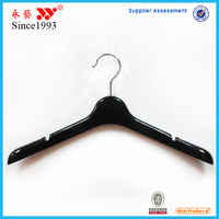 Chrome Material and Garment Rubber Coated Plastic Hanger With Custom Logo New Arrival