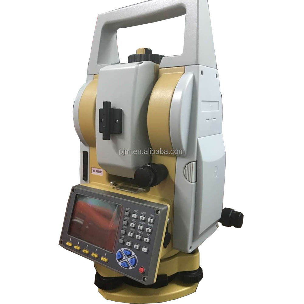 PJK PTS-1202R USED TOPCON TOTAL STATION PRICE WITH PRISM POLE