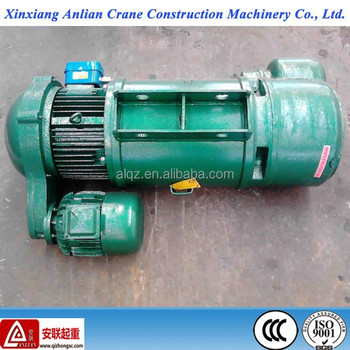 Crane lifting hoist 3ton 9m MD type dual speed wire rope motor hoist