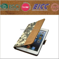 smart camouflage case for IPAD AIR with BSCI audited