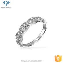 925 silver new screw design finger ring designs for girls daily wearing
