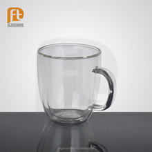 Specialized in manufacturing the Food Grade double wall glass cup for tea