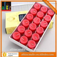 low price votive multi-colour candle with soy wax w206