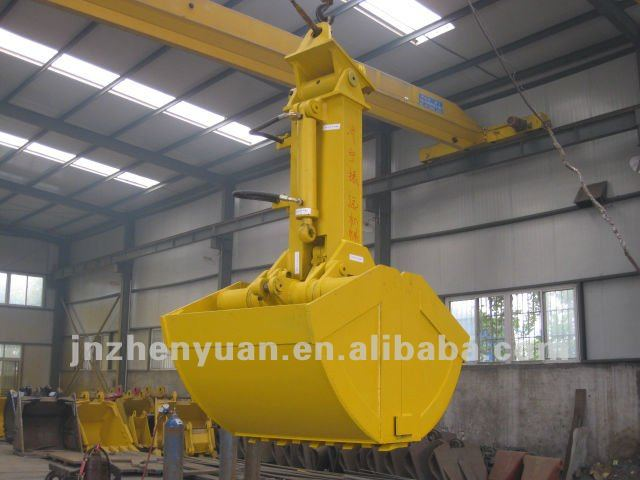 Excavator attachment Clamshell Bucket for Many kinds of Excavator