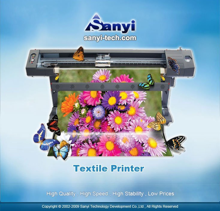 Textile Plotter Sublimation SY-850T (for polyester)