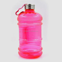 2.2L petg plastic water bottle with side handle,Plastic Bottle, Plastic Protein Powder Container