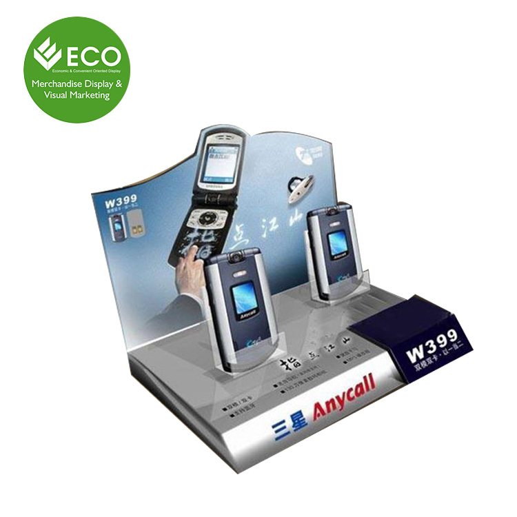 Customized Cheap Price Acrylic Mobile Phone Display Stand For Counter Display