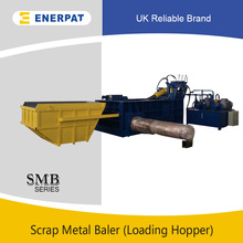 Cheap Price Two Ram Diesel Engine Metal Recycling Baler