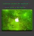 laptop decal skins Luminous stickers for macbook