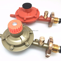 lpg cylinder gas pressure regulator