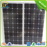 waterproof sensor integrated rollable solar panel