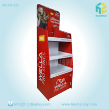shop shelves and display stand for hair color ,hair color display racks