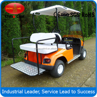 2+2 seater gas golf cart