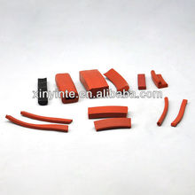Silicone foam rubber string/strip/tube