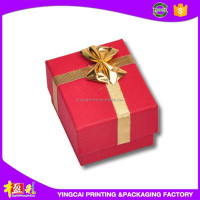Hot sell custom printed paper gift box , european wedding favor gift box make in china