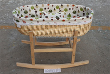 natural color willow baby basket