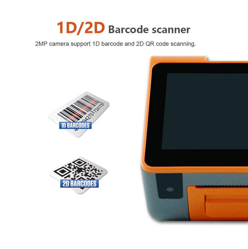Portable POS Machine, Bill Printer, Mobile Payment Terminal Handheld pc