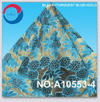 2013 fashion african cotton lace fabric /heavy african voile lace/african big swiss lace