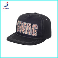 wholesale 5 panel plain peaked cap