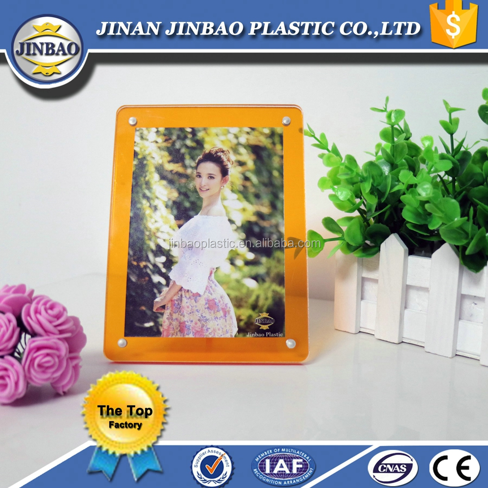 Jinbao frameless curve all full sexy open girl acrylic photo frame