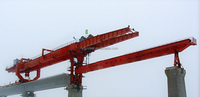 The box type double girder launching gantry for high-speed railway