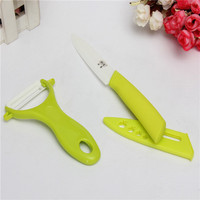 Hot Sale Best Price Kitchen Ceramic Cutting Tools Fruit Ceramic Knife & Ceramic Peeler Set 3pcs/Set Kitchen Knife New