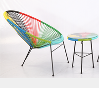 Acapulco chairs, peacock acapulco chair, bright color acapulco outdoor chair WR-3650