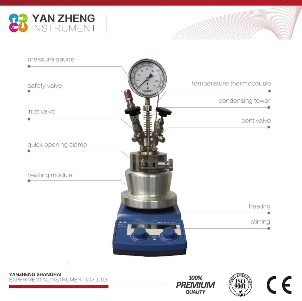 high pressure batch heating reactor