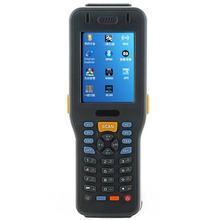 IP65 Rugged pda WinCE5.0 1D 2D Barcode Terminal with Intel CPU wifi bluetooth warehouse handheld computer