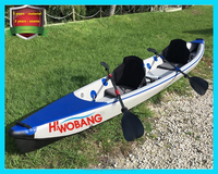 Folding Fishing Kayak, Sit on Top Kayak, Sea Kayak with Drop Stitch