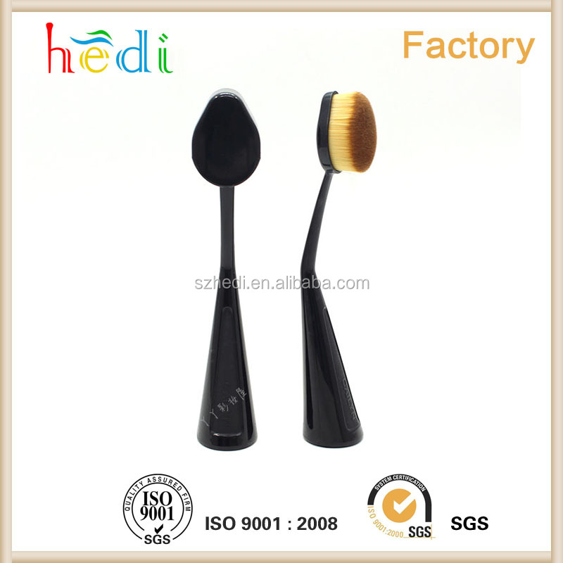 Hot sell 2016 New design Oval Makeup Brush Cosmetic Foundation Blend Beauty Brushes Tools