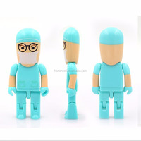 Doctor usb flash drive customized logo for gift or use