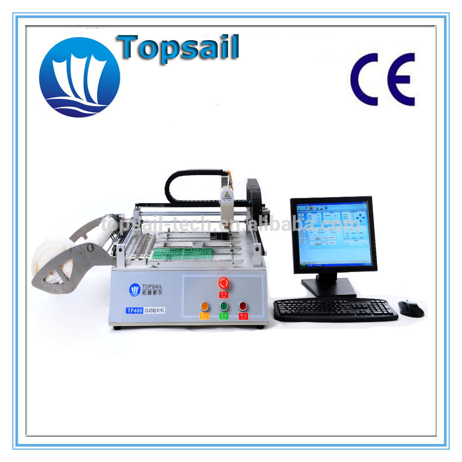 High quality machine grade mini pick and place machine with vision camera tp400 plus for medical use