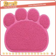 Pet cushion mats ,p0wsx paw shape pet bed for dogs for sale