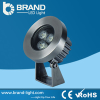 High quality ip68 waterproof 3w 12v underwater led lights for swimming pool